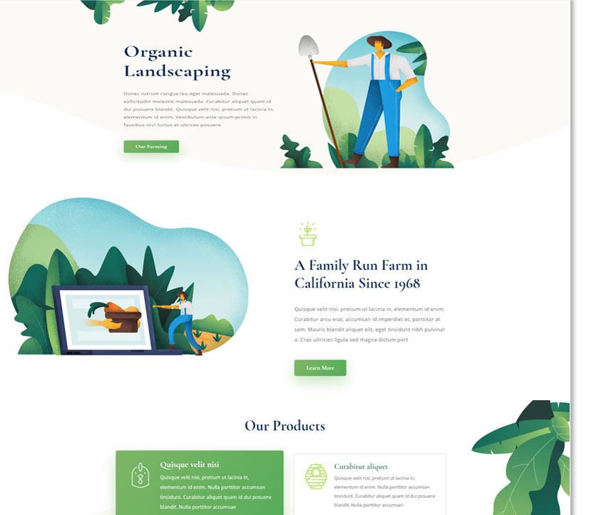 Professional Garden Center Web Design Company | Dog Ear ...